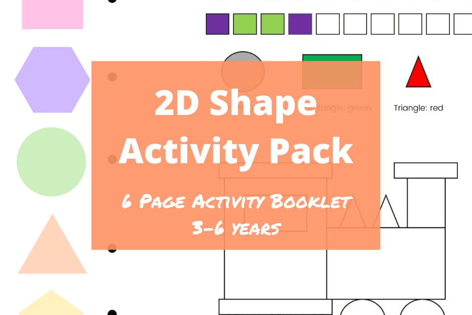 2D Shape Activity Pack Feature Image