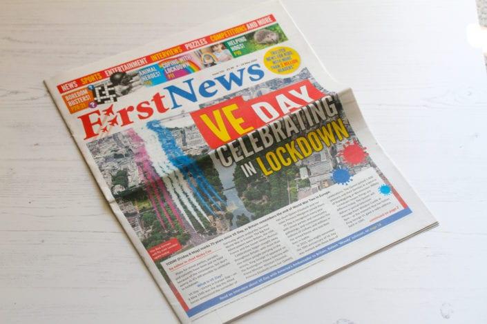 First News Review - best kids newspaper subscription service - uk news for kids