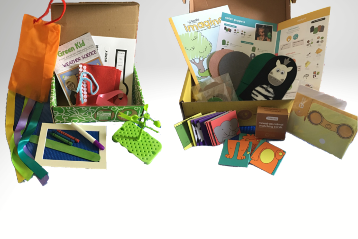 Kiwico review vs green kid crafts review - best kids education subscription boxes - combined
