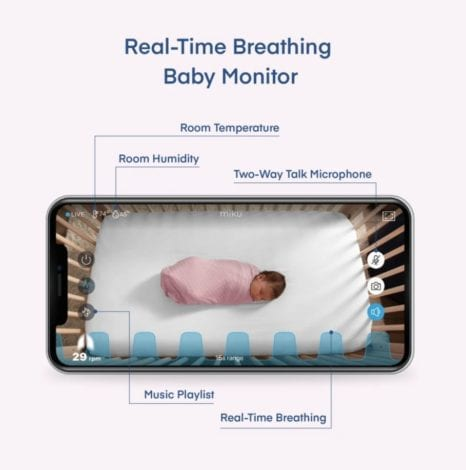 Miku review - best smart baby monitor - best baby breathing monitor