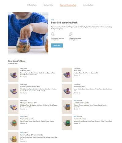 Yumi baby food delivery service review