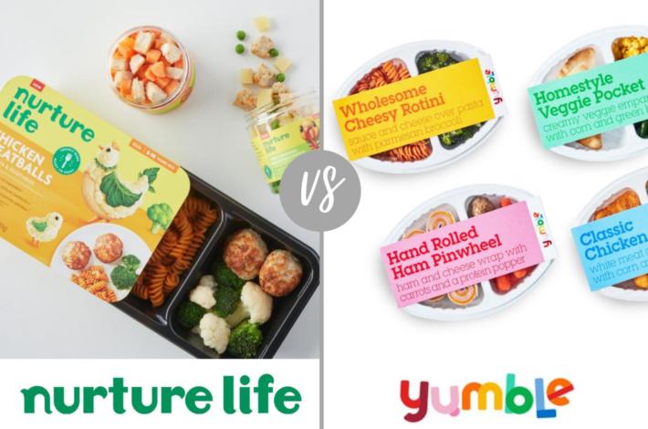 nurture life vs yumble - nurture life review - yumble review