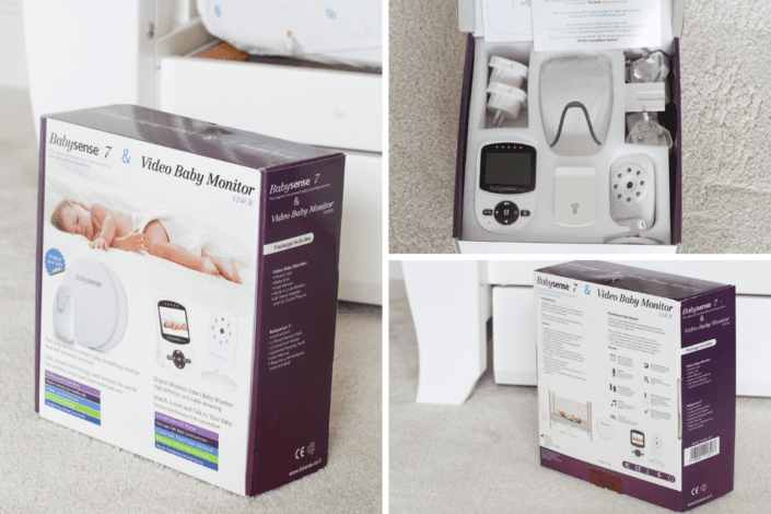 Babysense 7 Breathing Monitor and Babysense V24UK Monitor
