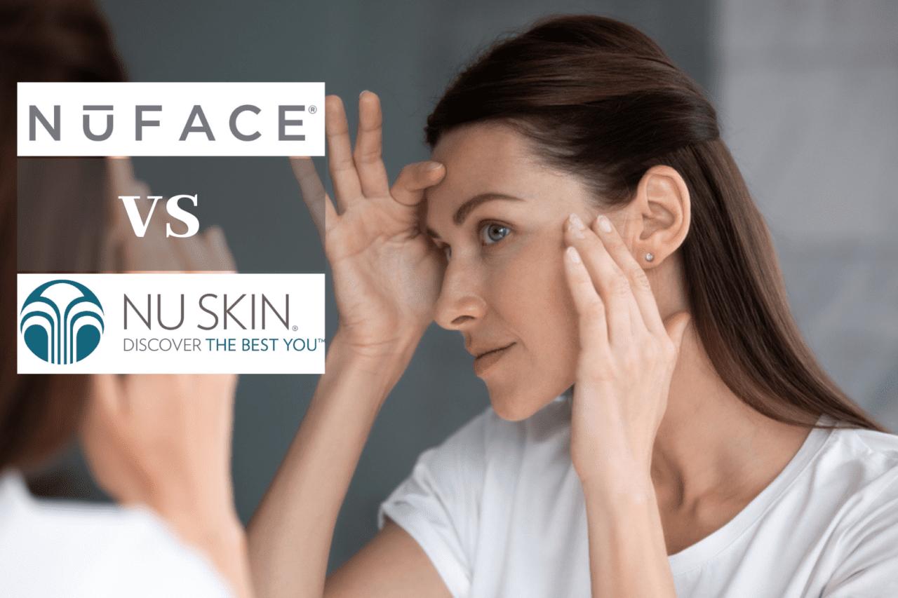 Nuface vs Nuskin - best facial microcurrent devices compared