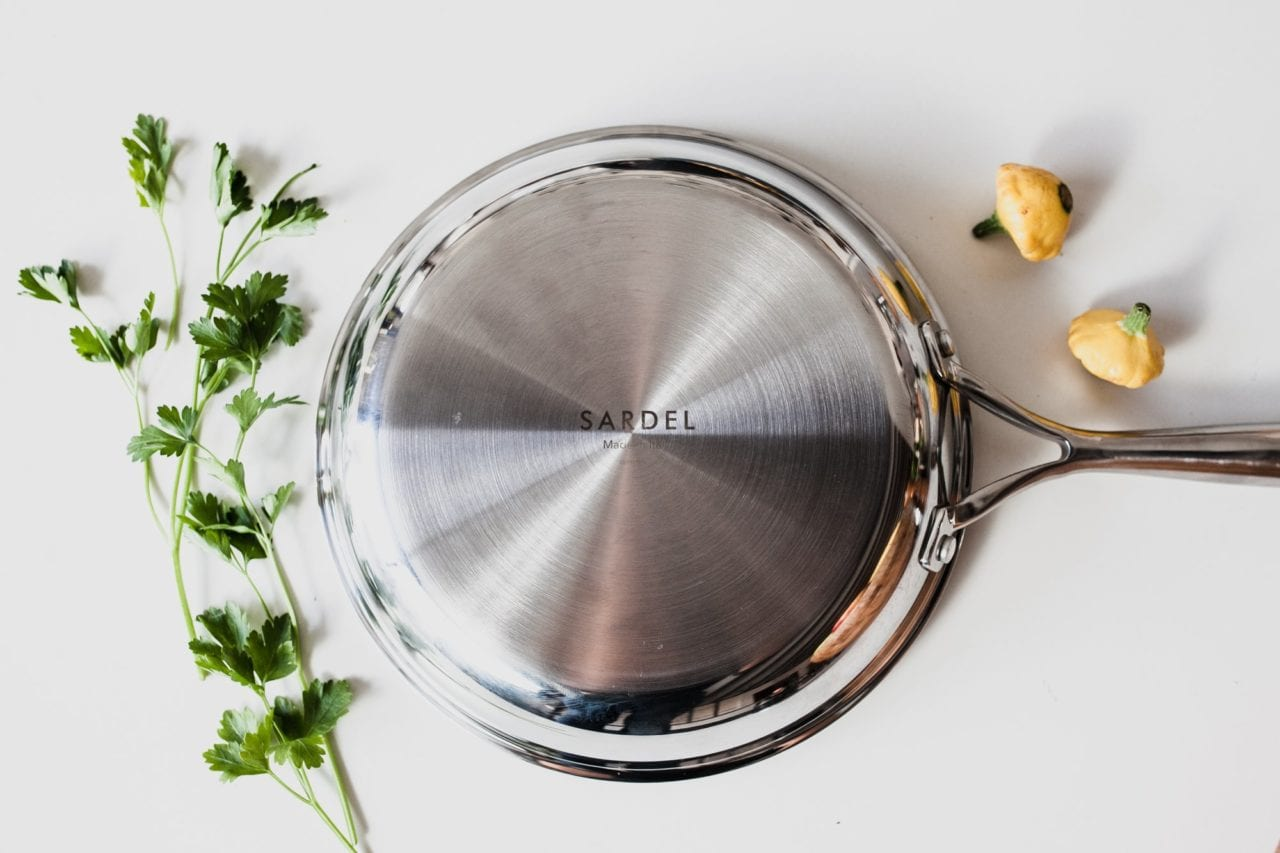 sardel cookware review - best stainless steel cookware - non toxic cookware