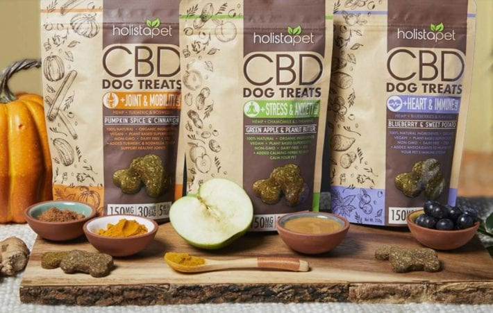 Holistapet CBD dog treats
