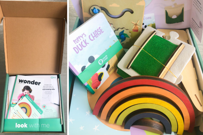 KiwiCo Panda Crate Review - early years subscription box - activity box for toddlers - activity box for babies