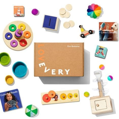 Lovevery play kit review - early years subscription box - activity box for toddlers - activity box for babies