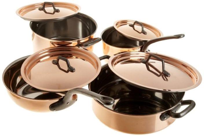 Matfer Copper Cookware