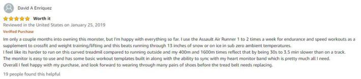 Assault fitness treadmill review