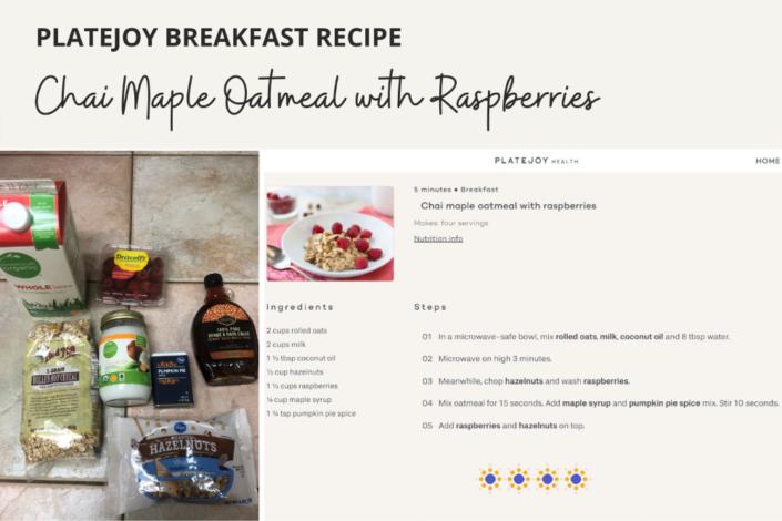 Platejoy Recipes - Breakfast Recipe - Platejoy review