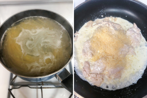 Platejoy Recipes - Lunch Recipe Fettuccine - Platejoy Review