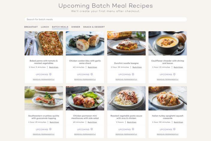 Platejoy Review - Batch Meals