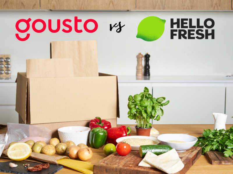 Gousto vs Hello Fresh UK - best recipe box UK