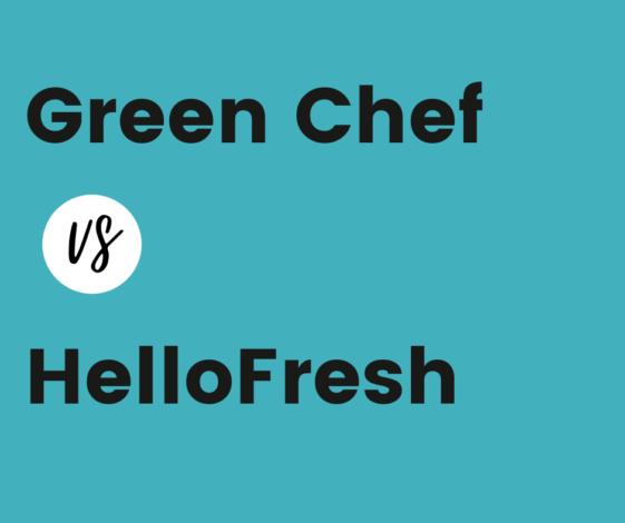 Greenchef vs hellofresh comparison