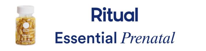 Ritual Essential Prenatal Logo Table