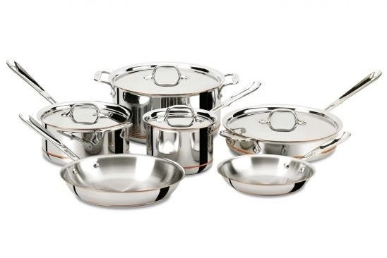 All Clad Review D3 Stainless Steel Cookware Set Cookware