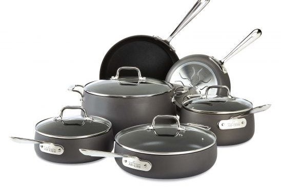 All clad cookware review - hard anodized set
