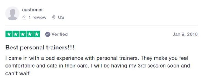 Find your trainer review - personal trainer reviews