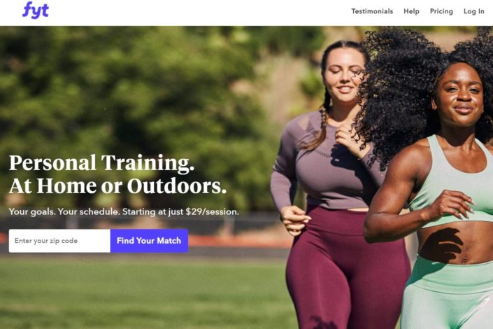 Fyt review - find your trainer review - personal trainer reviews