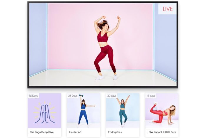 Obe Fitness Review - live classes - virtual fitness classes