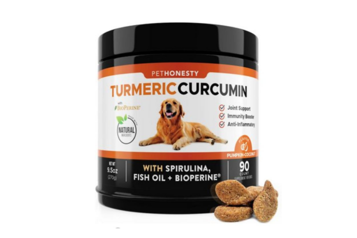Pethonesty Turmeric - best joint supplement for dogs