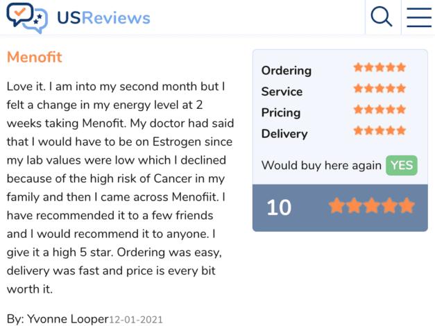 Menolabs review