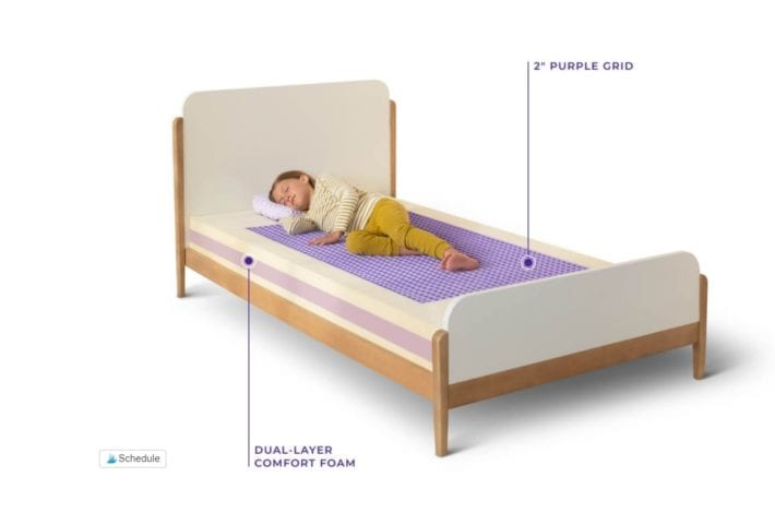 Purple Kids Mattress Review