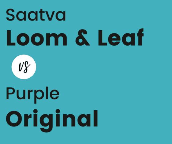 Saatva vs Purple Original Mattress Comparison