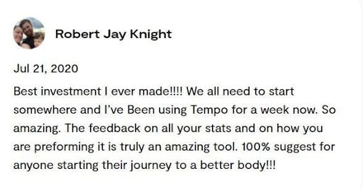 Tempo Fit Review
