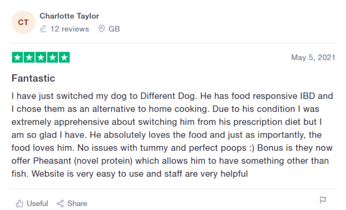 Different Dog Food Review 2