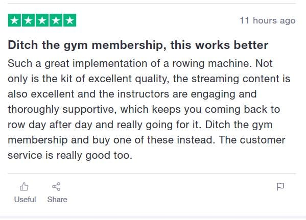 Hydrow Review - hydrow rower customer review