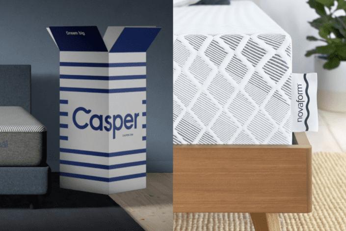 Casper vs novaform comparison