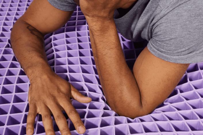Purple grid layer